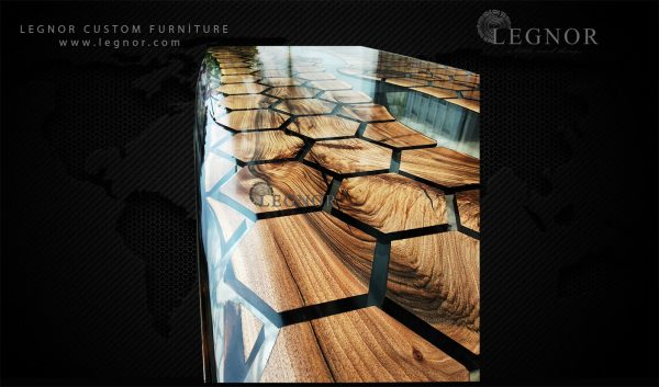 honeycomb resin table