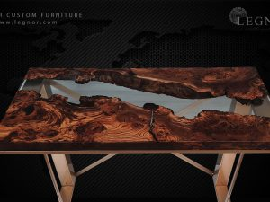 resin Console Table