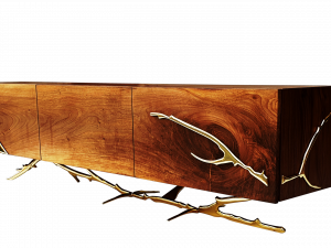 Hudson Tv Unit - Walnut